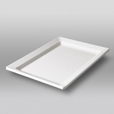 Bord 300x214mm melamine wit