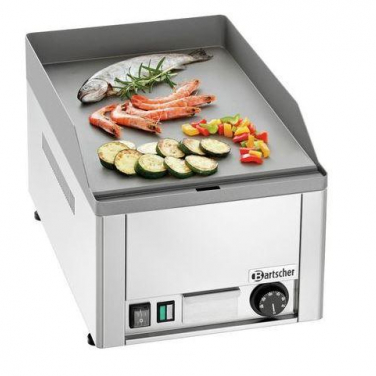 Grillplaat elektrisch glad 230V 50Hz