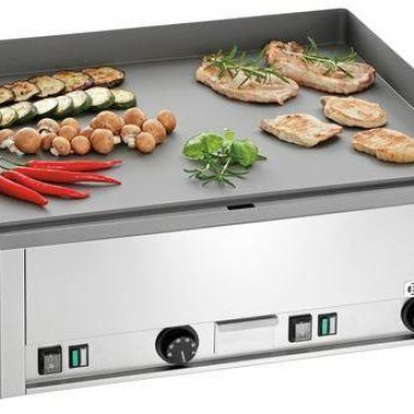 Grillplaat electrisch GDP650E glad 6kW, 400V 50Hz NAC