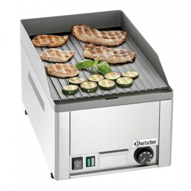 Grillplaat electrisch GDP 320E geribbeld 3kW/230V 50Hz 325x580x310mm