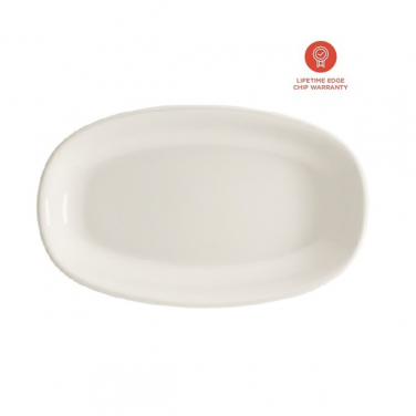 Bord 150x85mm ovaal Gourmet Off white