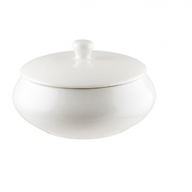 Pot 180mm Gourmet Off white