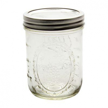 Ball pint jar wide mouth incl. deksel 475ml (16oz)